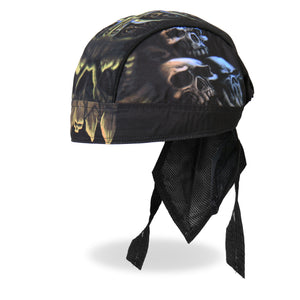 Hot Leathers Skull Cavern Headwrap