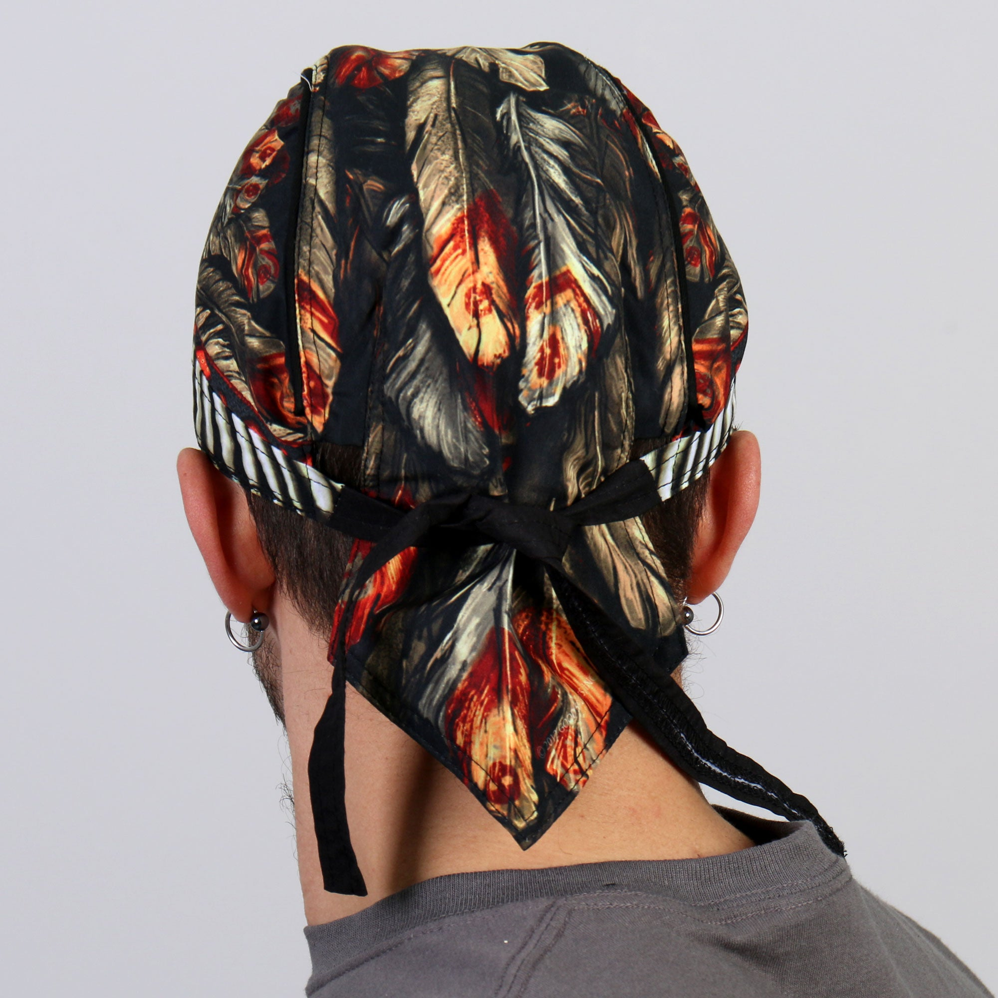 Hot Leathers Native American Headdress Premium Headwrap