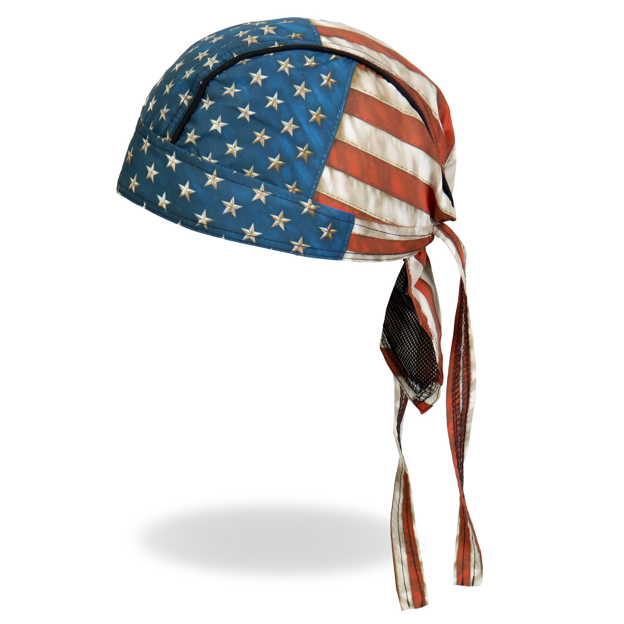 Hot Leathers Vintage American Flag Head Wrap
