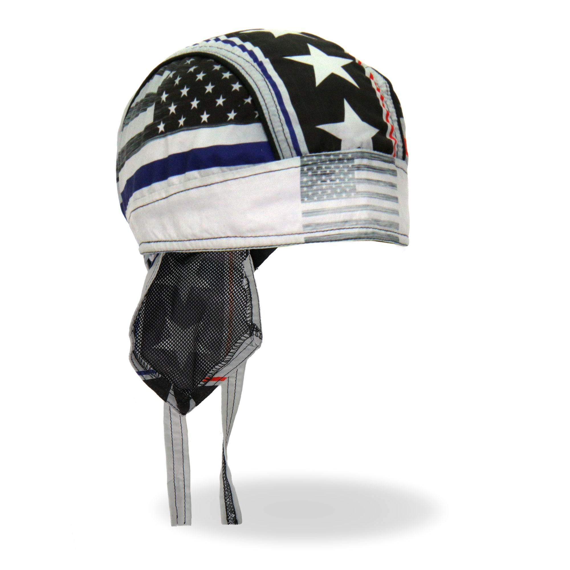 Hot Leathers Thin Line  Stars and Stripes Flag Head Wrap