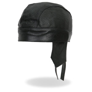 Hot Leathers Perforated Leather Head Wrap