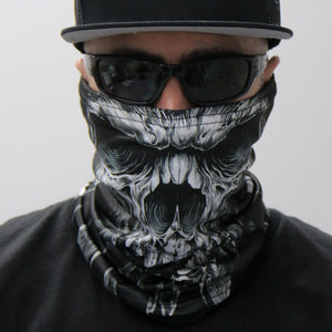 Hot Leathers Shredder Skull Neck Gaiter Mask
