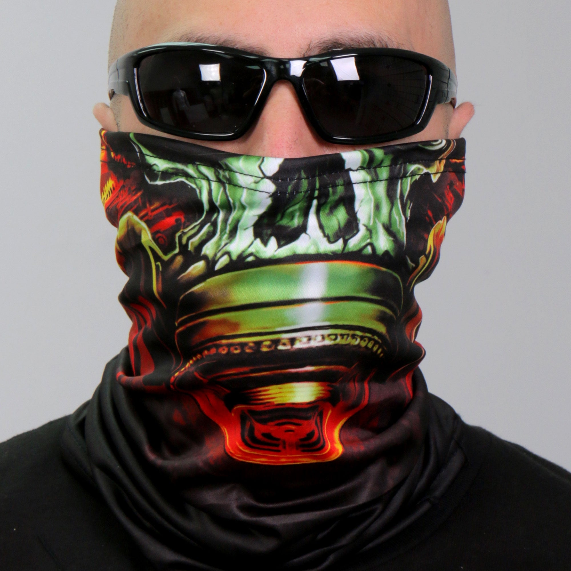 Hot Leathers Gas Mask Neck Gaiter Mask