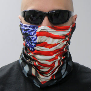 Hot Leathers America Rising Neck Gaiter Mask