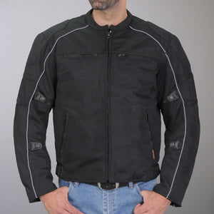 Hot Leathers All Weather Armored Nylon Jacket