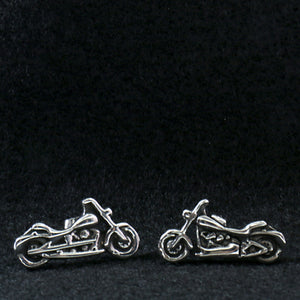 Hot Leathers Motorcycle Post Earrings