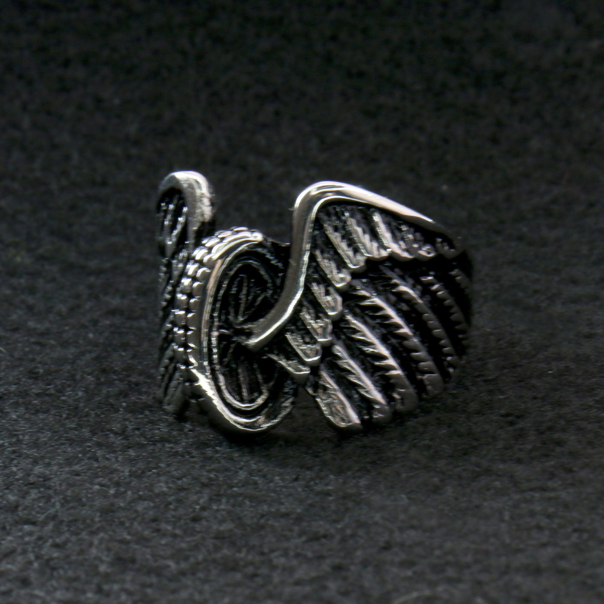 Hot Leathers Wings Wheel Ring