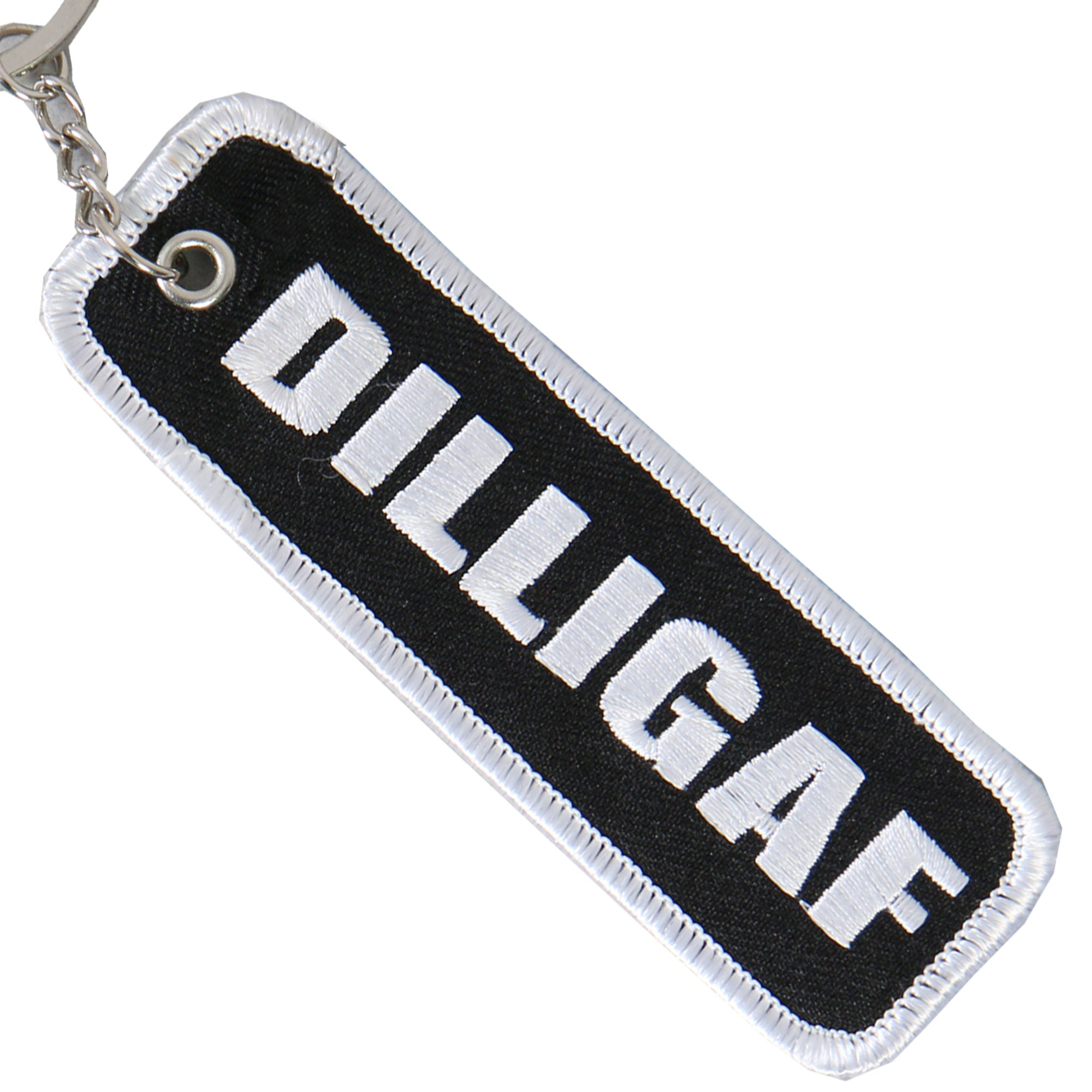 Hot Leathers DILLIGAF Embroidered Key Chain