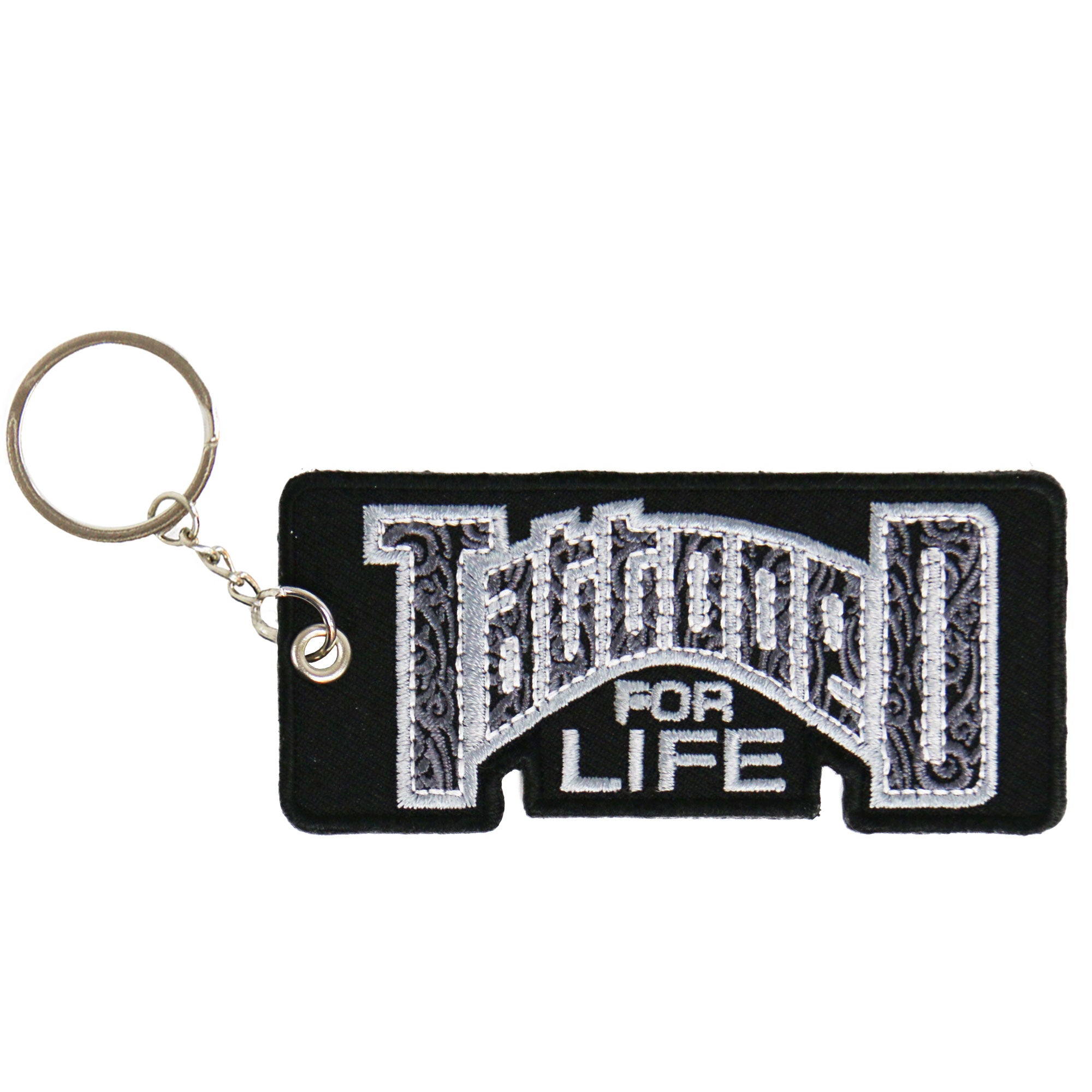 Hot Leathers Tattooed For Life Embroidered Key Chain