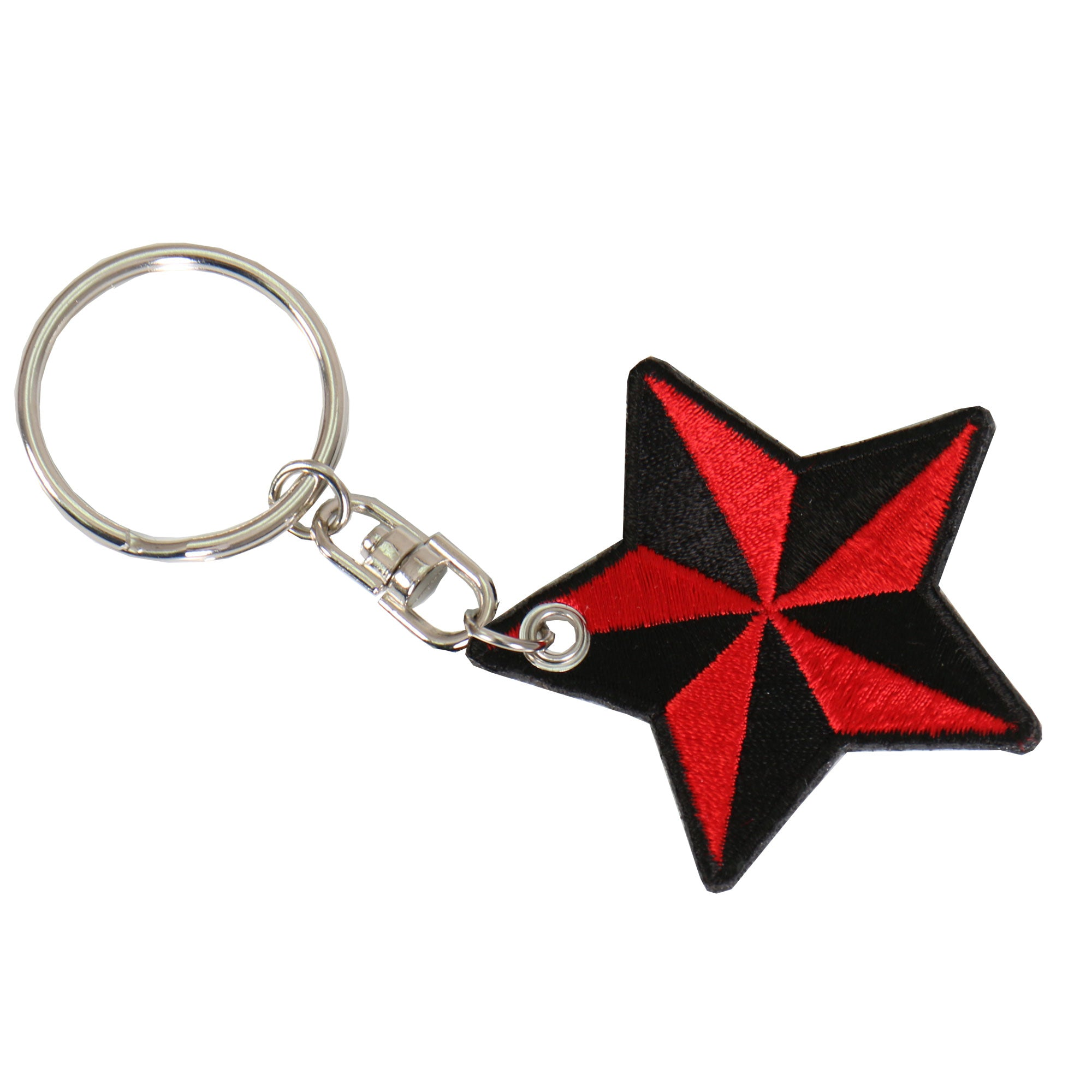 Hot Leathers American Nautical Embroidered Key Chain