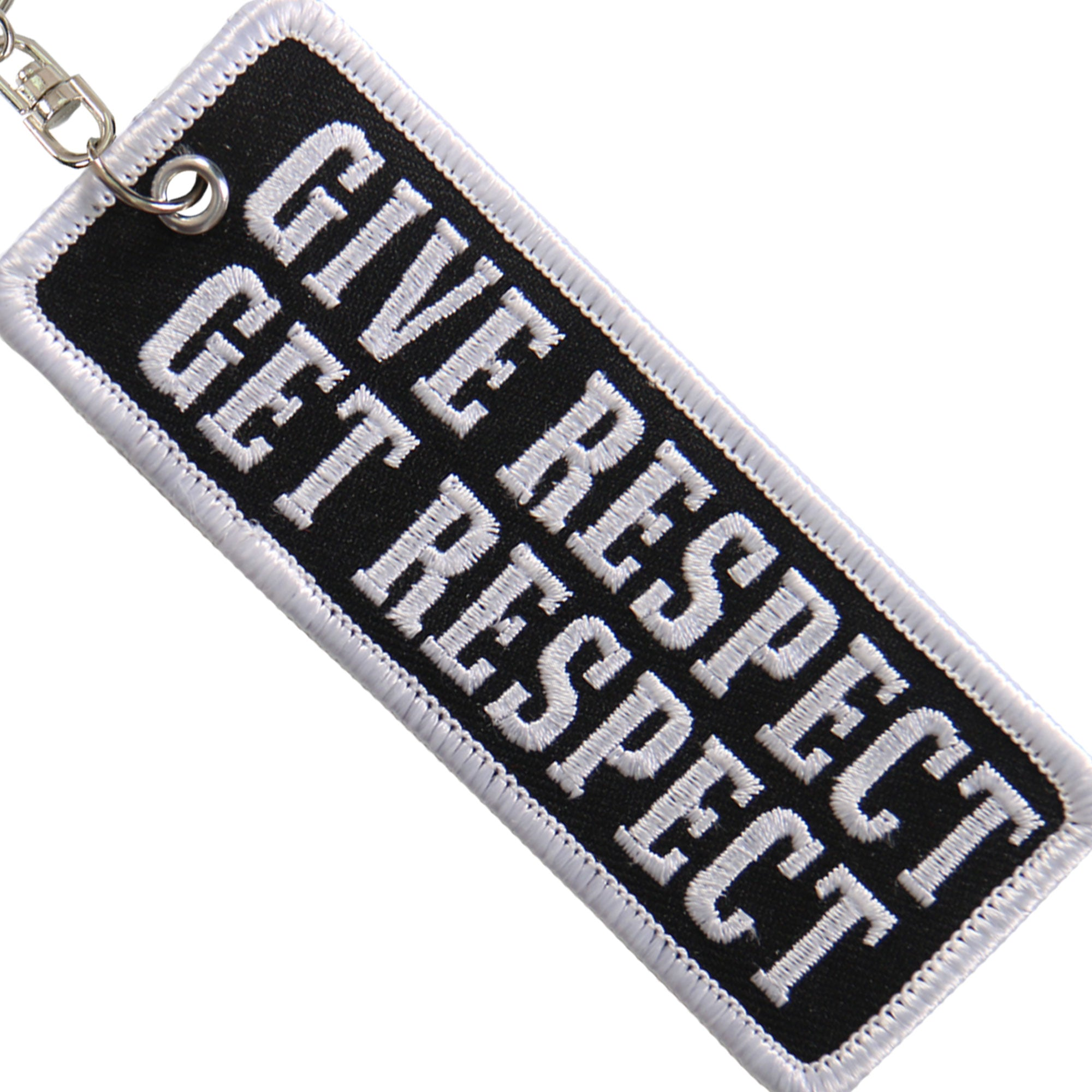 Hot leathers Key Chain Patch Give Respect Get Respect