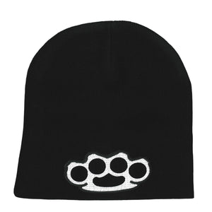 Hot Leathers Brass Knuckles Knit Hat