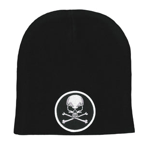 Hot Leathers Skull and Crossbones Knit Hat