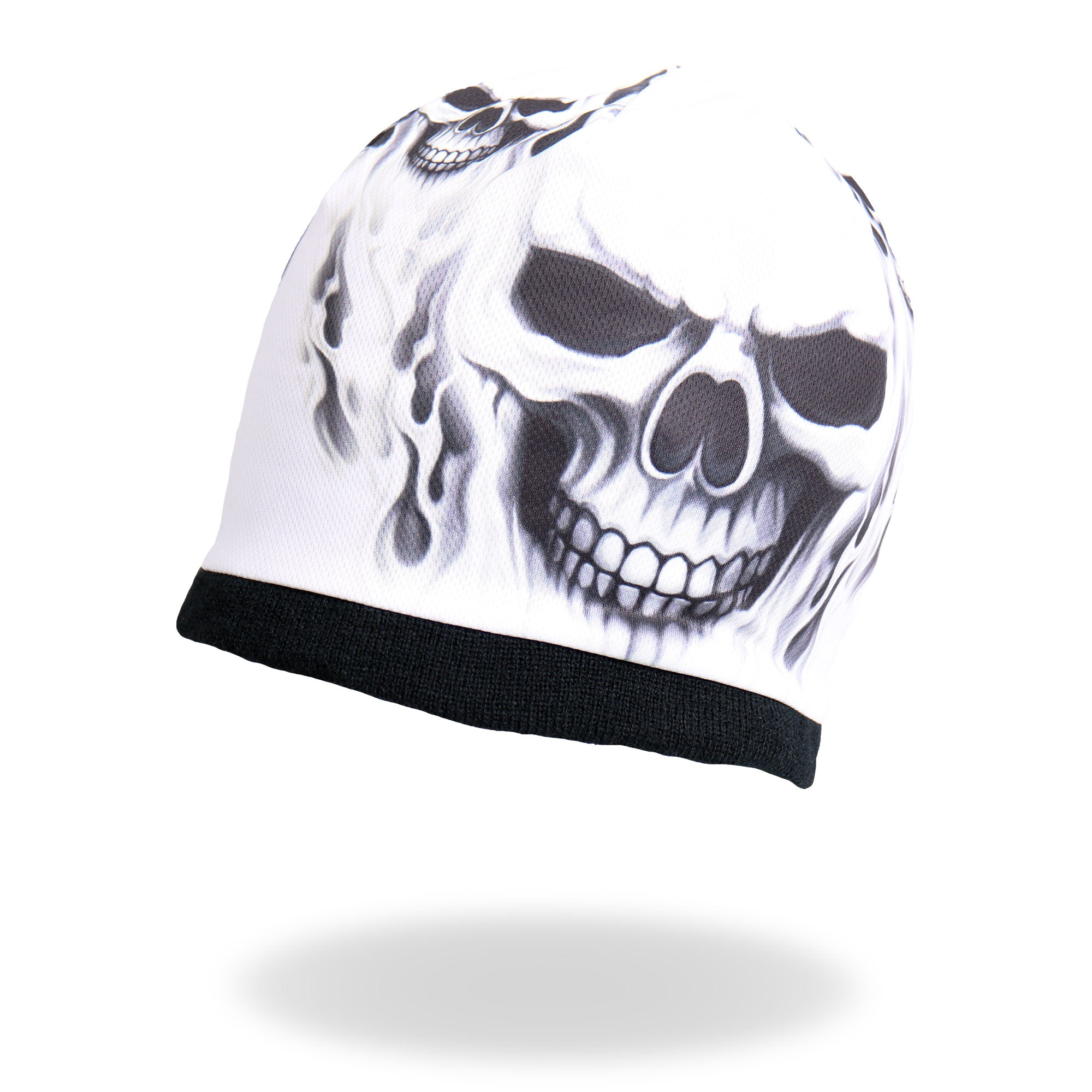 Hot Leathers Ghost Skull Sublimated Beanie