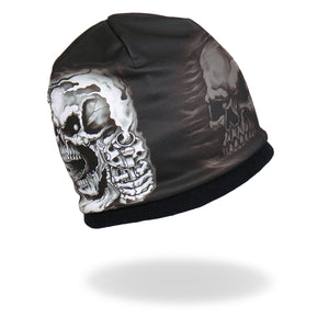 Hot Leathers Sublimated Assassin Skull Beanie