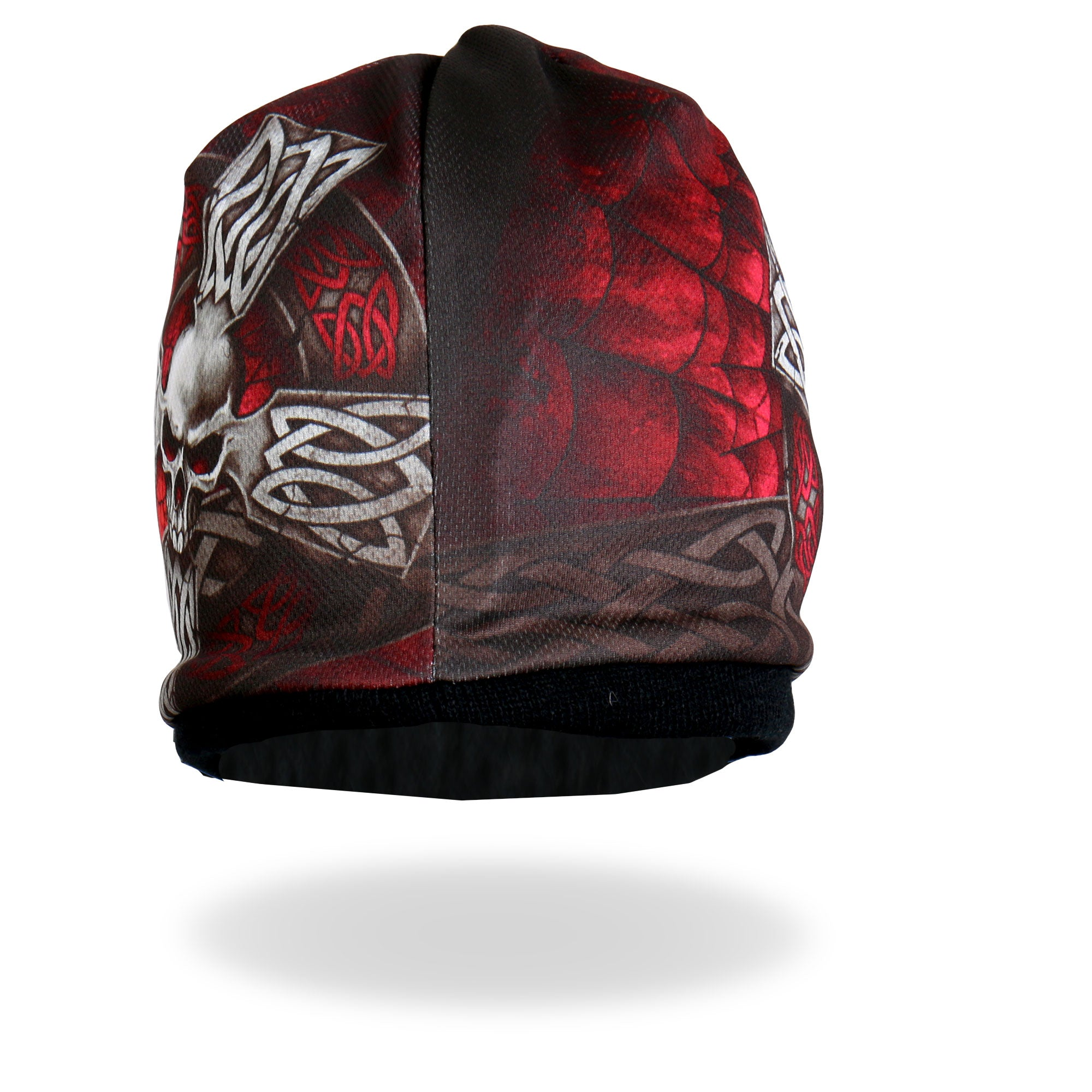 Hot Leathers Sublimated Celtic Cross Beanie