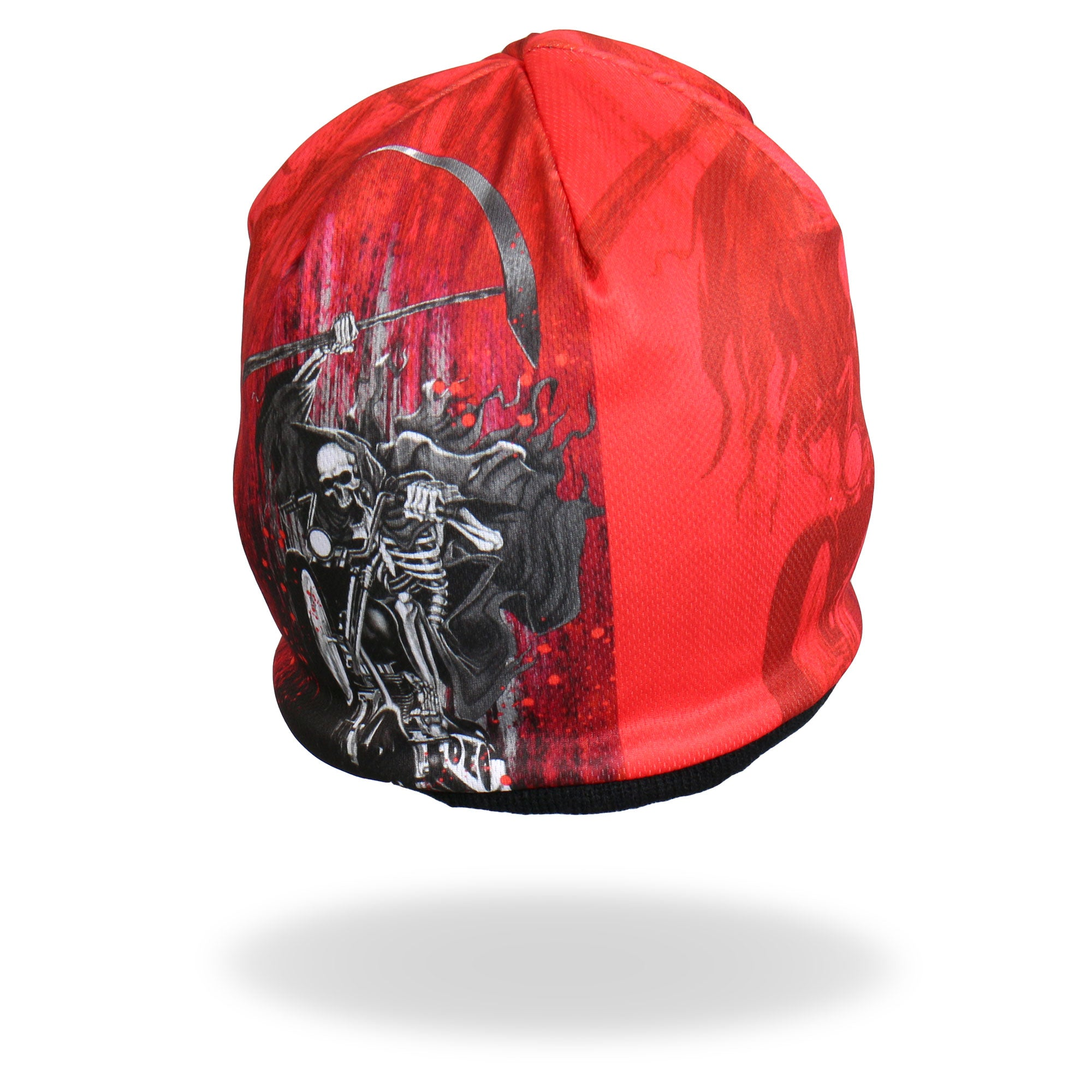 Hot Leathers Sublimated Death Rider Beanie