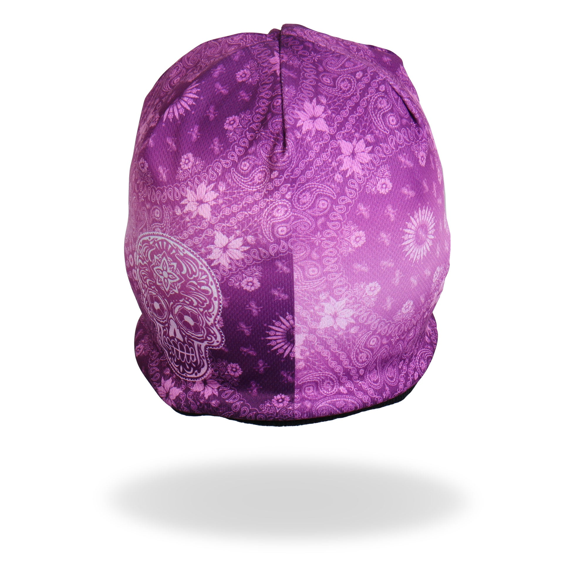 Hot Leathers Sublimated Pink Paisley Beanie