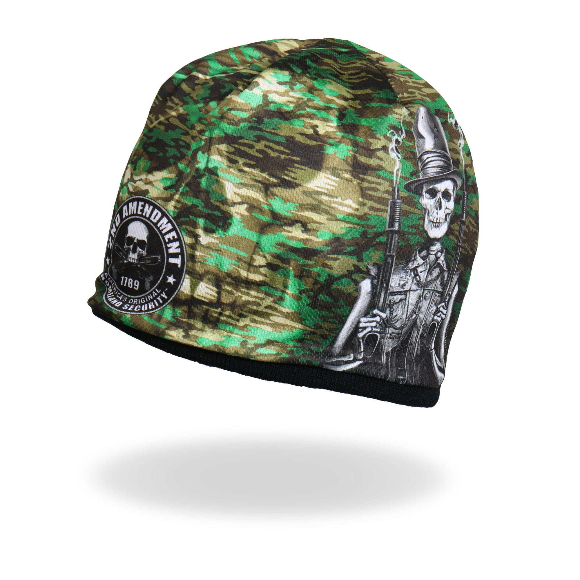 Hot Leathers Sublimated Stovepipe Shotgun Beanie