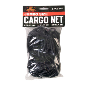 Hot Leathers Jumbo Motorcycle Storage Cargo Net