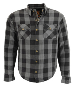 Milwaukee Performance MPM1630 Men's Armored Checkered Flannel Shirt with Aramid® by DuPont™ Fibers