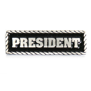 Hot Leathers President Pin