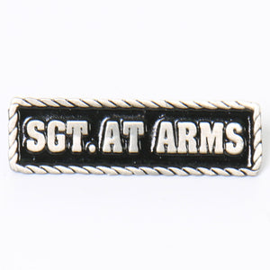 Hot Leathers Sgt. At Arms Pin