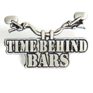 Hot Leathers Time Behind Bars Pin