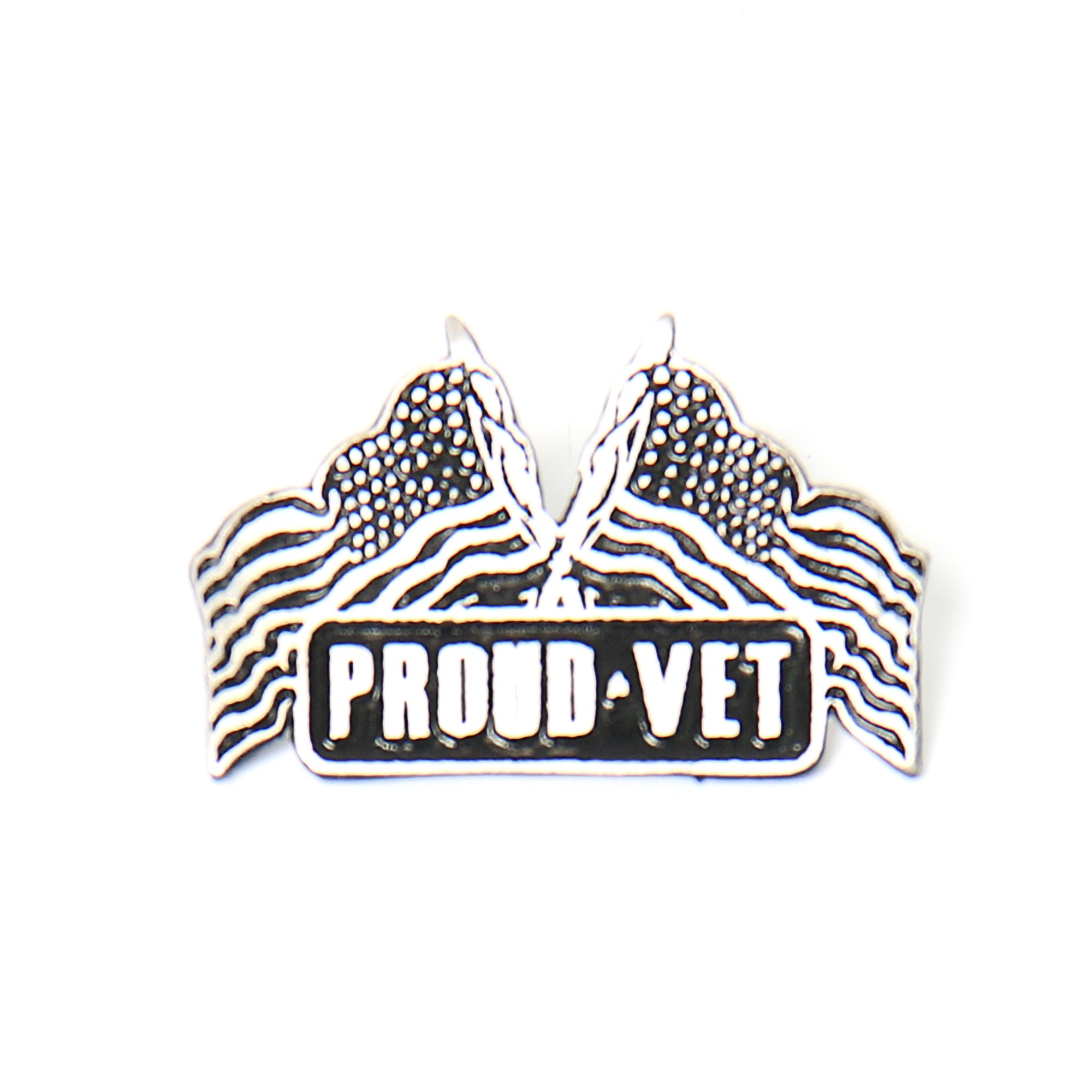 Hot Leathers Proud Vet Pin