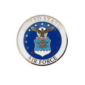 Hot Leathers US Air Force Logo Pin