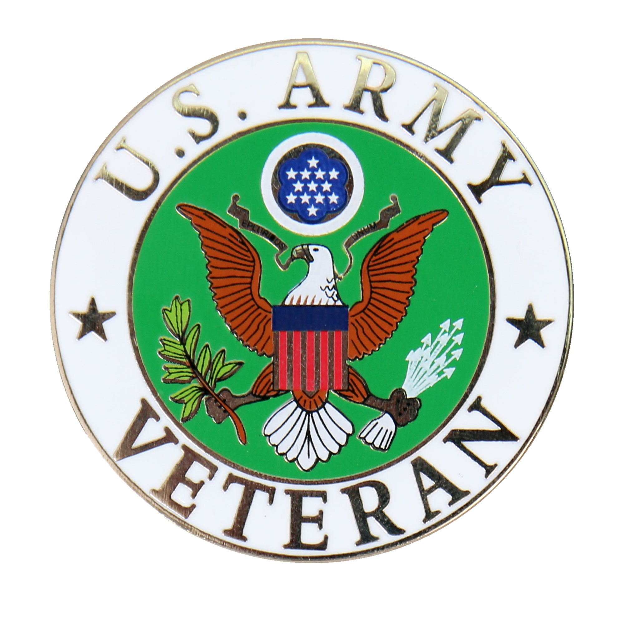 Hot Leathers US Army Veteran Pin
