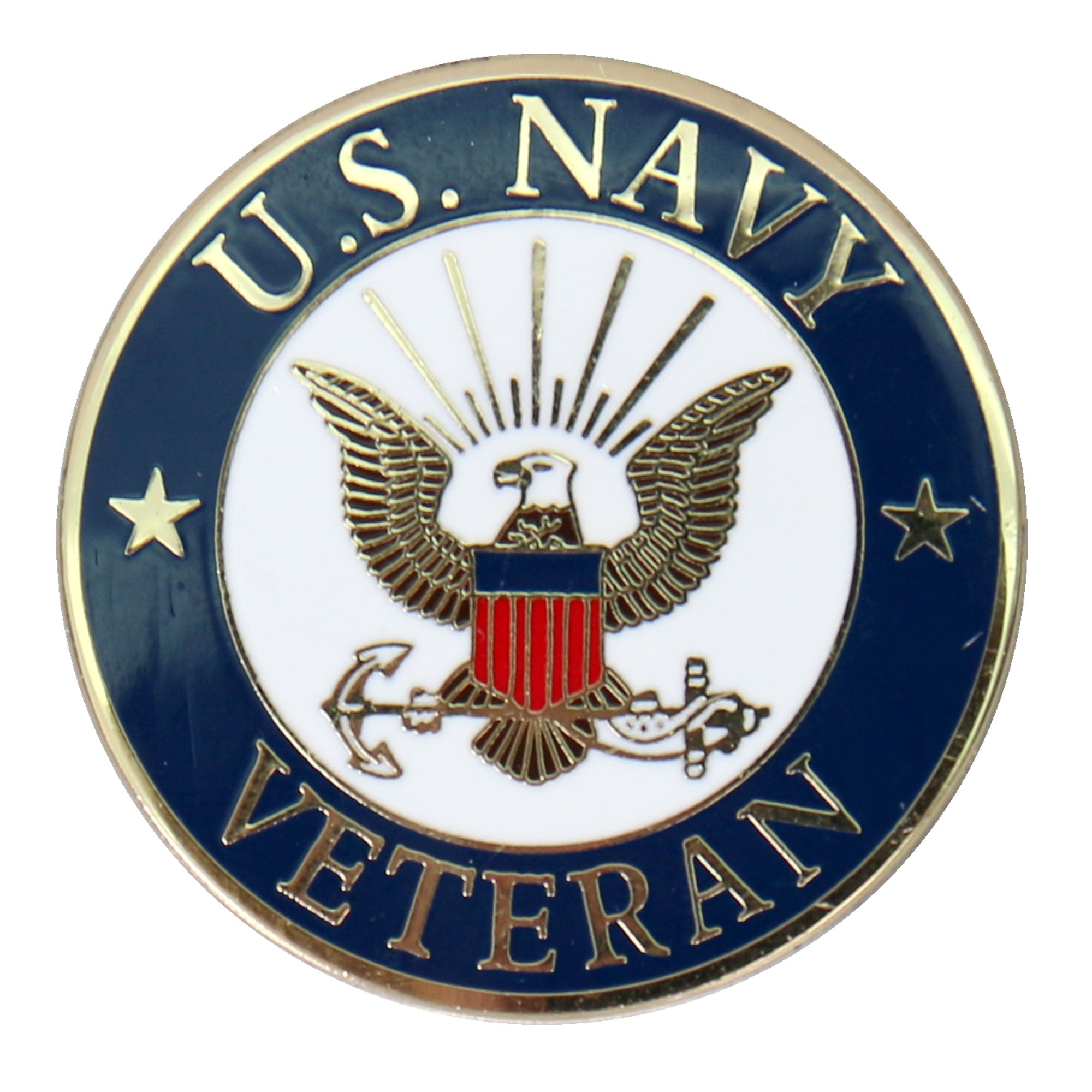 Hot Leathers US Navy Veteran Pin