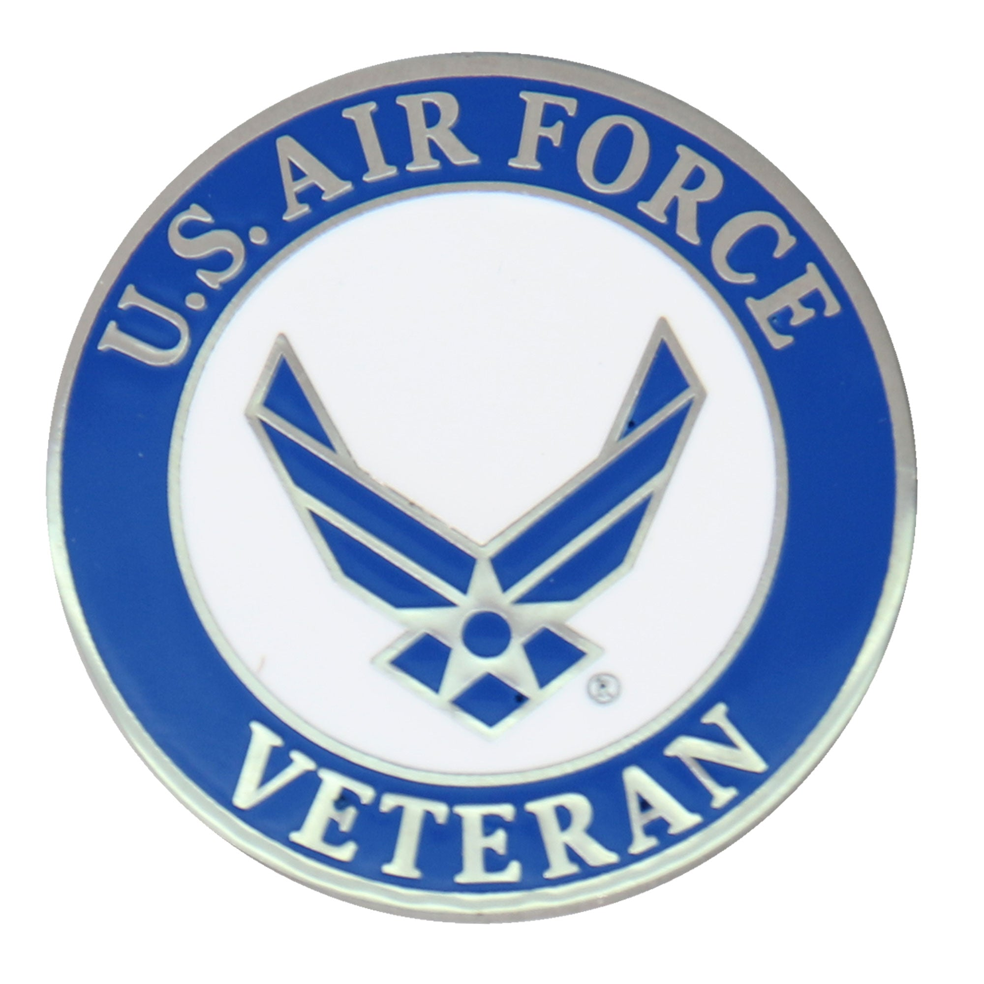 Hot Leathers US Air Force Veteran Pin