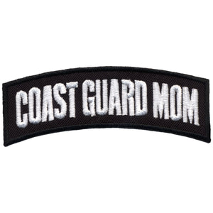 "Hot Leathers 4"" x 1"" Coast Guard Mom Rocker Patch"
