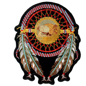 "Hot Leathers Dream Catcher 9"" x 12"" Patch"