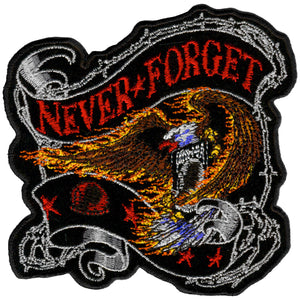 "Never Forget Eagle 12"" x 12"" Patch"