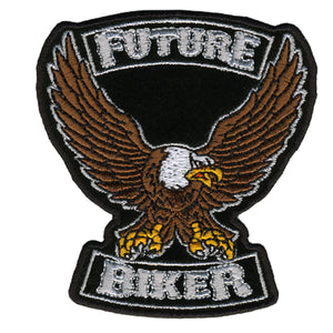 "Hot Leathers Future Biker Kid's 3"" x 3"" Patch"