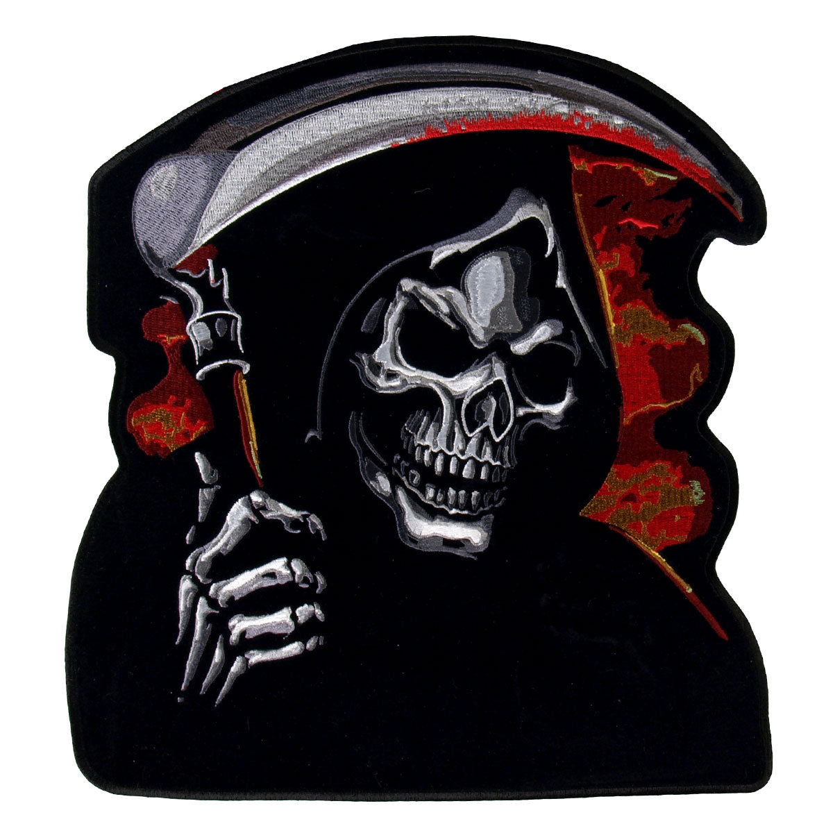 Hot Leathers Grim Reaper Biker Patch