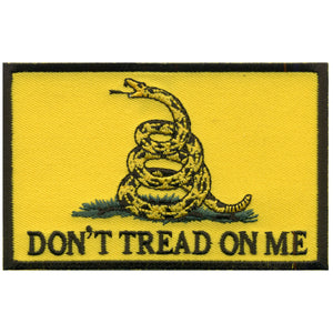"Hot Leathers Don't Tread On Me 4"" x 3"" Patch"