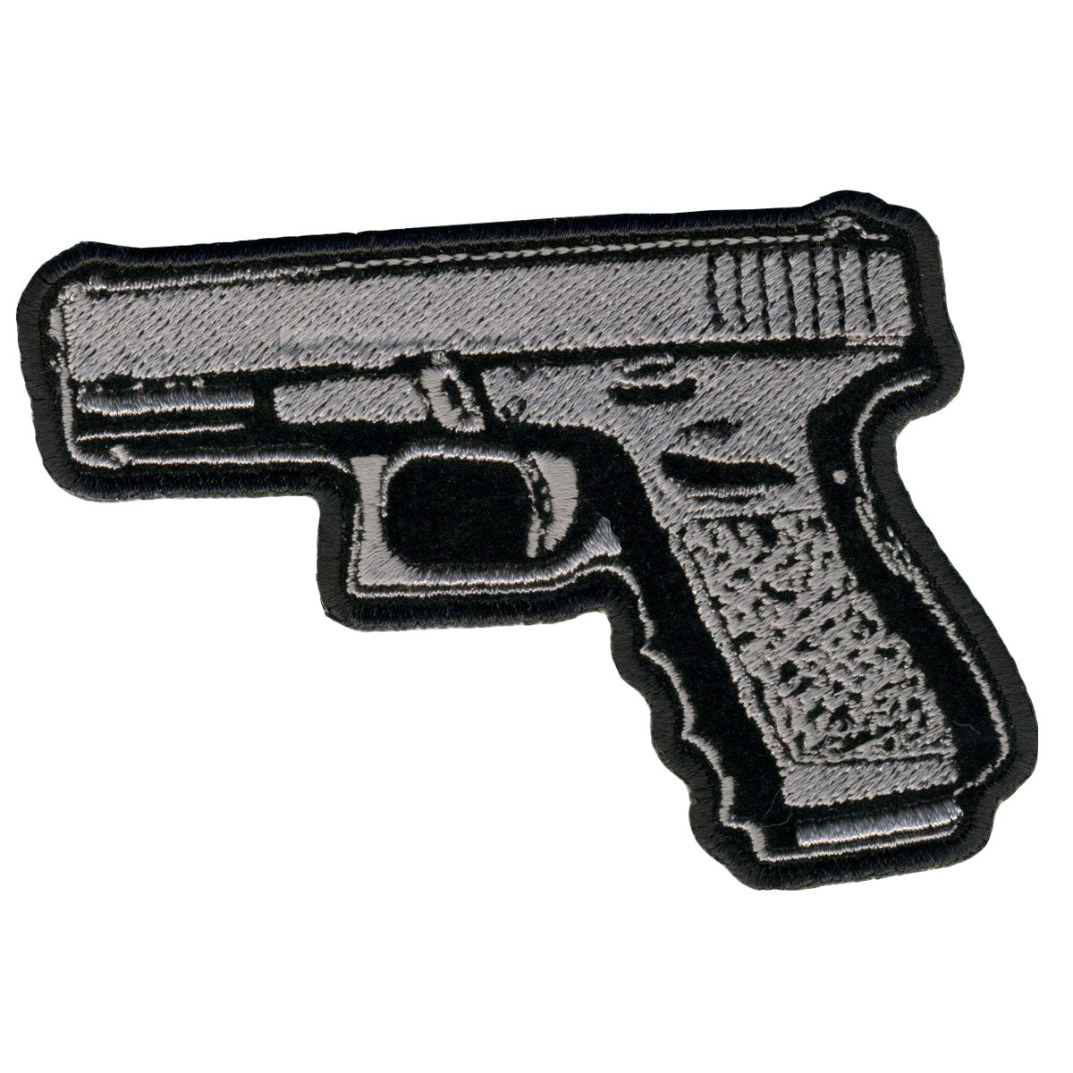 "Hot Leathers Pistol 4"" x 3"" Patch"