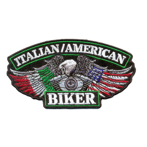 Hot Leathers Italian American Biker Patch