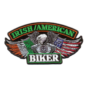 "Hot Leathers Irish Biker 5"" x 3"" Patch"