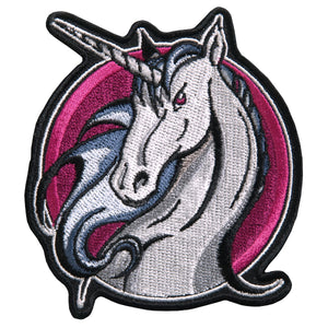 "Hot Leathers Unicorn 3.5"" x3.5"" Patch"