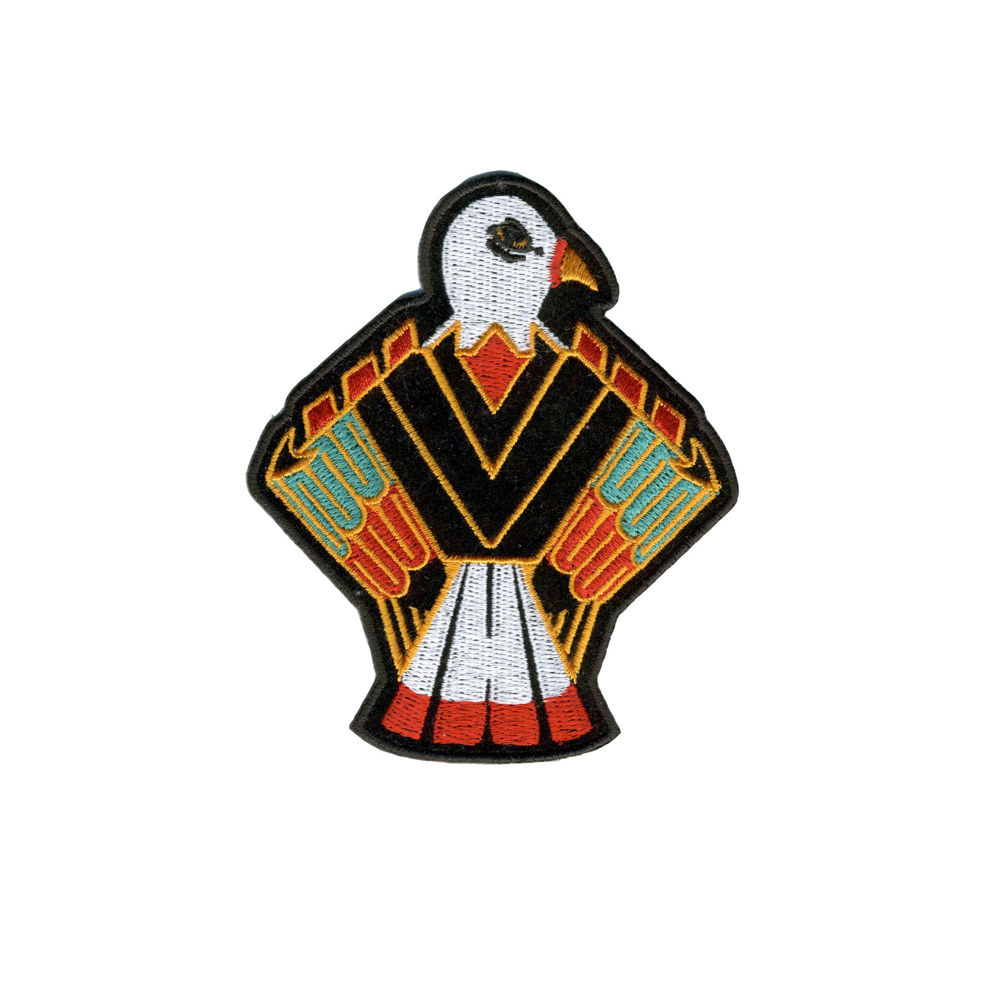 "Hot Leathers Native Eagle 4""x4"" Patch"