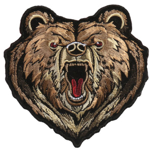 "Hot Leathers 4"" x 4"" Bear Patch"