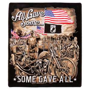 "Hot Leathers All Gave Some Memorial 10""x11"" Patch"
