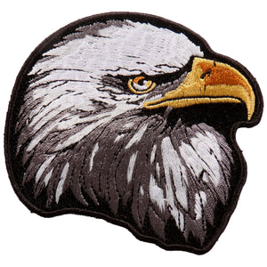 Hot Leathers Eagle Head Patch