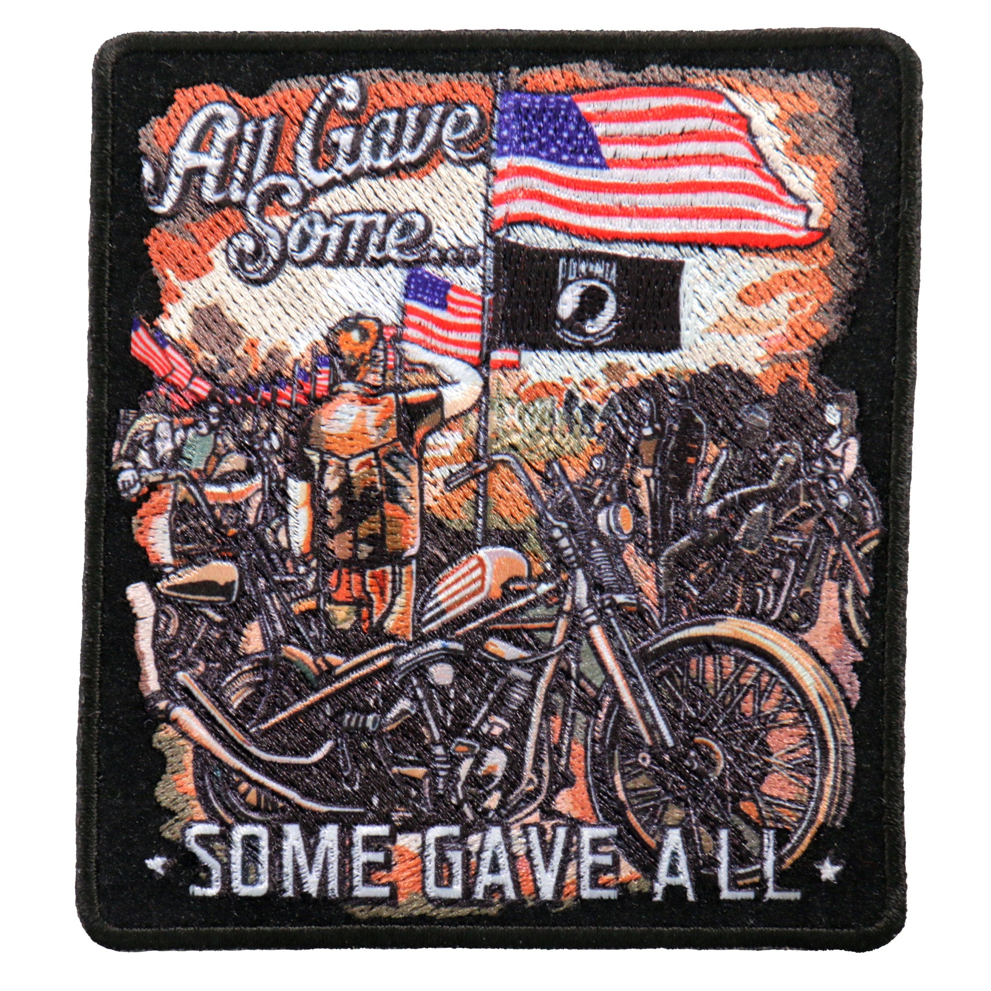 "Hot Leathers 4"" Remembrance Patch"