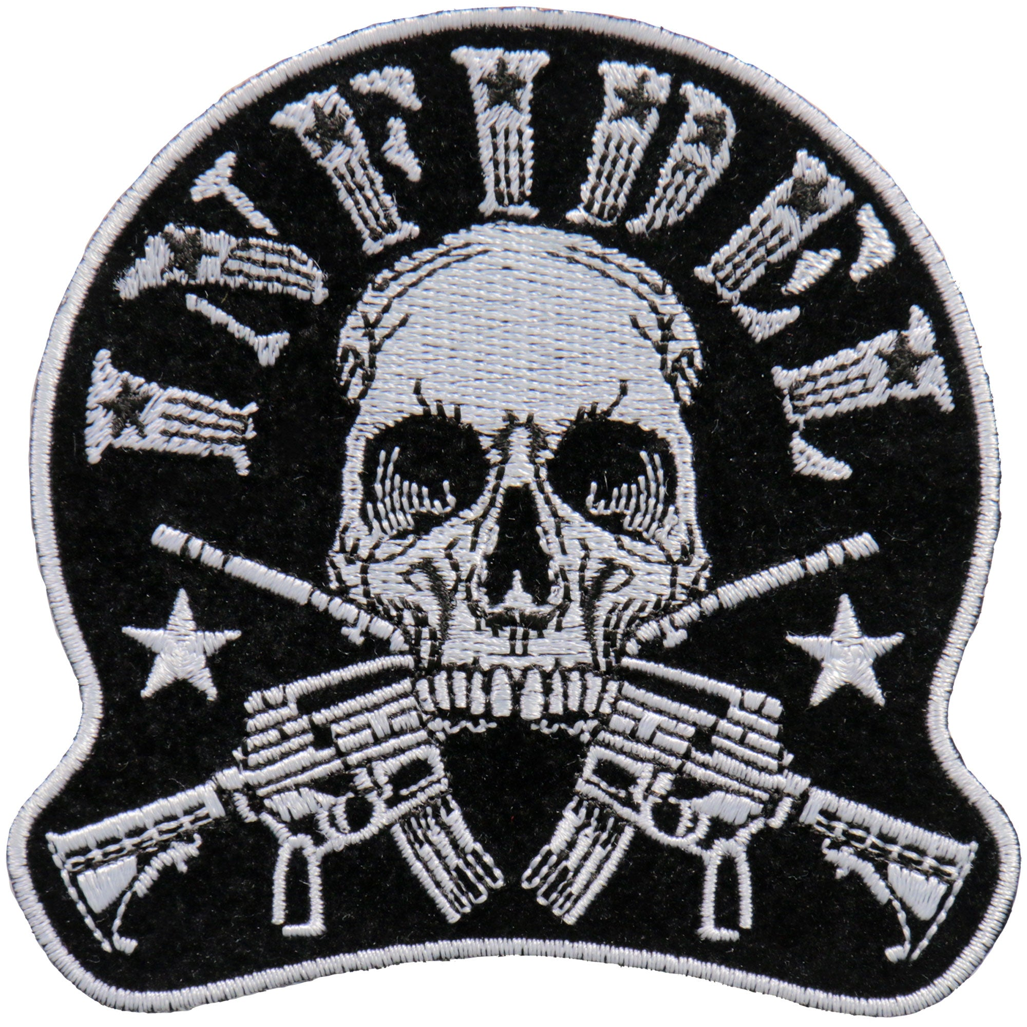 "Hot Leathers 4"" Infidel Patch"