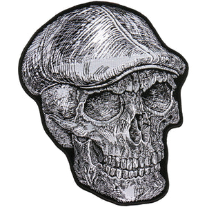 "Hot Leathers 4"" Skull Cap Patch"